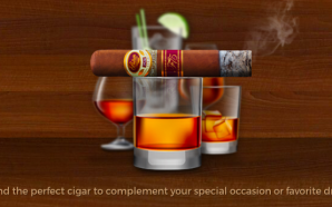 "Famous Smoke Shop's ""Cigar & Spirits Pairing Guide"""