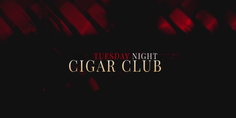 cigar club graphic